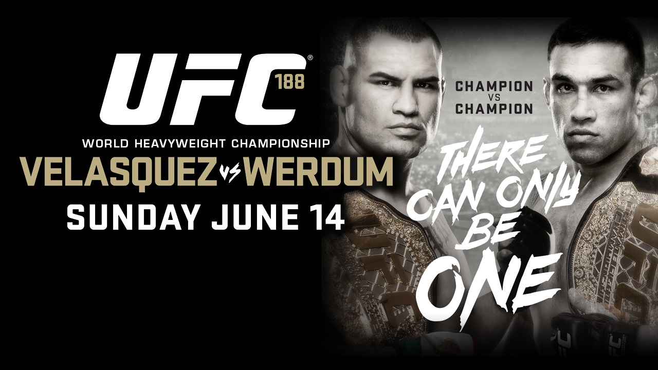 UFC 188: Can Fabricio Werdum Steal the Title . . . Again?